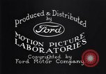 Image of Ford motor company Detroit Michigan USA, 1932, second 9 stock footage video 65675037753