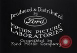 Image of Ford motor company Detroit Michigan USA, 1932, second 11 stock footage video 65675037753