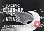 Image of US troops occupying areas of New Guinea Aitape New Guinea, 1944, second 1 stock footage video 65675037770