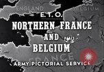 Image of United States 1st Army engineers build bridges France, 1944, second 1 stock footage video 65675037771
