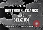 Image of United States 1st Army engineers build bridges France, 1944, second 2 stock footage video 65675037771