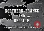 Image of United States 1st Army engineers build bridges France, 1944, second 3 stock footage video 65675037771