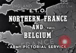 Image of United States 1st Army engineers build bridges France, 1944, second 4 stock footage video 65675037771