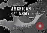 Image of United States 1st Army engineers build bridges France, 1944, second 9 stock footage video 65675037771