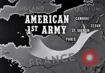 Image of United States 1st Army engineers build bridges France, 1944, second 10 stock footage video 65675037771