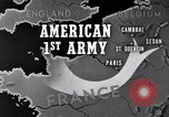Image of United States 1st Army engineers build bridges France, 1944, second 12 stock footage video 65675037771