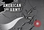 Image of Elements of US 3rd Army advance across rivers St. Mihiel France, 1944, second 3 stock footage video 65675037775