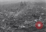 Image of Ruins from bombing by the U.S. 9th Air Force in World War 2 Julich Germany, 1945, second 1 stock footage video 65675037781