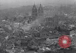 Image of Ruins from bombing by the U.S. 9th Air Force in World War 2 Julich Germany, 1945, second 2 stock footage video 65675037781