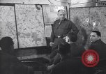 Image of Intelligence officer briefs Major General Charles Gerhardt & staff Germany, 1945, second 2 stock footage video 65675037782