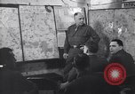 Image of Intelligence officer briefs Major General Charles Gerhardt & staff Germany, 1945, second 3 stock footage video 65675037782