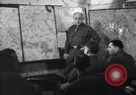 Image of Intelligence officer briefs Major General Charles Gerhardt & staff Germany, 1945, second 8 stock footage video 65675037782