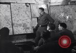 Image of Intelligence officer briefs Major General Charles Gerhardt & staff Germany, 1945, second 9 stock footage video 65675037782