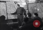 Image of Intelligence officer briefs Major General Charles Gerhardt & staff Germany, 1945, second 10 stock footage video 65675037782