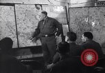 Image of Intelligence officer briefs Major General Charles Gerhardt & staff Germany, 1945, second 11 stock footage video 65675037782