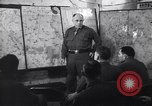 Image of Intelligence officer briefs Major General Charles Gerhardt & staff Germany, 1945, second 12 stock footage video 65675037782