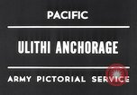 Image of United States 5th fleet Ulithi Atoll Caroline Islands, 1945, second 2 stock footage video 65675037790