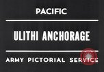 Image of United States 5th fleet Ulithi Atoll Caroline Islands, 1945, second 3 stock footage video 65675037790