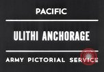 Image of United States 5th fleet Ulithi Atoll Caroline Islands, 1945, second 4 stock footage video 65675037790
