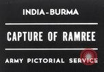 Image of Lieutenant General Wheeler Ramree Burma, 1945, second 1 stock footage video 65675037796