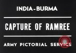 Image of Lieutenant General Wheeler Ramree Burma, 1945, second 3 stock footage video 65675037796