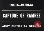 Image of Lieutenant General Wheeler Ramree Burma, 1945, second 7 stock footage video 65675037796