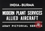 Image of Hindustan Aircraft Limited Bangalore India, 1942, second 1 stock footage video 65675037797