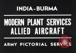 Image of Hindustan Aircraft Limited Bangalore India, 1942, second 2 stock footage video 65675037797