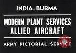 Image of Hindustan Aircraft Limited Bangalore India, 1942, second 3 stock footage video 65675037797
