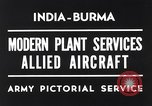 Image of Hindustan Aircraft Limited Bangalore India, 1942, second 4 stock footage video 65675037797
