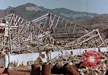 Image of wrecked steel frame Nagasaki Japan, 1946, second 2 stock footage video 65675037802