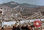 Image of wrecked steel frame Nagasaki Japan, 1946, second 3 stock footage video 65675037802