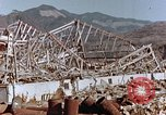 Image of wrecked steel frame Nagasaki Japan, 1946, second 8 stock footage video 65675037802
