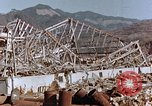 Image of wrecked steel frame Nagasaki Japan, 1946, second 9 stock footage video 65675037802