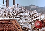 Image of wrecked steel frame Nagasaki Japan, 1946, second 2 stock footage video 65675037803