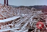 Image of steel frame building destroyed Nagasaki Japan, 1946, second 4 stock footage video 65675037804