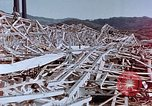 Image of steel frame building destroyed Nagasaki Japan, 1946, second 6 stock footage video 65675037804