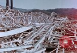 Image of steel frame building destroyed Nagasaki Japan, 1946, second 8 stock footage video 65675037804