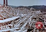 Image of steel frame building destroyed Nagasaki Japan, 1946, second 10 stock footage video 65675037804
