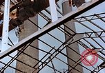 Image of wrecked steel frame Nagasaki Japan, 1946, second 2 stock footage video 65675037805