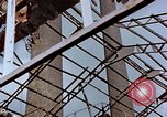 Image of wrecked steel frame Nagasaki Japan, 1946, second 5 stock footage video 65675037805