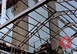 Image of wrecked steel frame Nagasaki Japan, 1946, second 7 stock footage video 65675037805