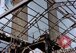 Image of wrecked steel frame Nagasaki Japan, 1946, second 9 stock footage video 65675037805