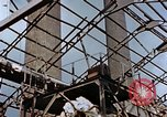 Image of wrecked steel frame Nagasaki Japan, 1946, second 10 stock footage video 65675037805