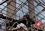 Image of wrecked steel frame Nagasaki Japan, 1946, second 11 stock footage video 65675037805