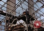 Image of wrecked steel frame Nagasaki Japan, 1946, second 12 stock footage video 65675037805
