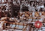 Image of wrecked steel frame Nagasaki Japan, 1946, second 2 stock footage video 65675037806