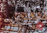 Image of wrecked steel frame Nagasaki Japan, 1946, second 4 stock footage video 65675037806