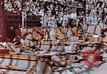Image of wrecked steel frame Nagasaki Japan, 1946, second 6 stock footage video 65675037806