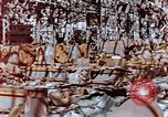 Image of wrecked steel frame Nagasaki Japan, 1946, second 9 stock footage video 65675037806